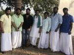 Actor Nithin Meets Power Star Pawan Kalyan Katamrayudu Shoot