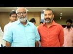 Baahubali Pre Release Function Keeravani Emotional Tears In Rajamouli Eyes