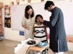 Pawan Kalyan Celebrating Aadhya S Birthday