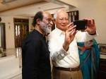 Malaysian Pm S Fan Moment Selfie With Tamil Superstar Rajinikanth