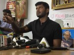 Vishal Announces Film Production Strike From May