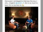 Tollywood Actress Rakul Feels Honoured Interview Sachin Tendulkar