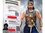 Baahubali Prabhas Aadhaar Card Details Leaked