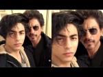 Shahrukh Khan Threatens Rip Off Aryan Khan S Lips If He Kisses