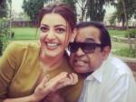 Brahamanandam Given Deep Hug Kajal Agarwal