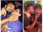 Ram Gopal Varma Anurag Kashyap Go Kissing Spree A Public Place