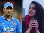 Who S He Raai Laxmi On Ms Dhoni
