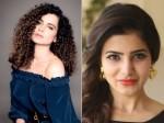 Samantha Tweet On Kangana Ranaut S Bollywood Diva Video