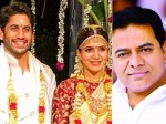 Ktr Congratulats Samantha On Her Marriege With Naga Chaithanya