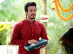 Akhil Introduced His Amma Nanna Hello Movie