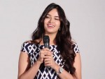 Heroine Poojitha Ponnada Speech At Frank Movie Poster Launch