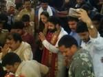 Jr Ntr Koratala Siva Visits Bhadrachalam