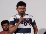 Director Maruthi On Frank Movie Poster Launching