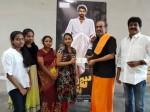 Nene Raju Nene Mantri Unit Gives 5 Lakh Cheque Fight Master Nagarajus Family