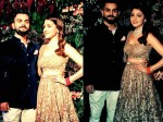 At Lost Ranbir Kapoor Katrina Kaif Met At Virat Kohli Anushka Sharma Reception
