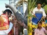 Jai Simha Josh Balakrishna Sankranti Celebrations Naravaripalle
