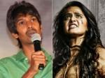 Dhanraj About Heoroine Anushka S Nick Name