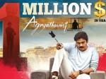 Agnyaathavaasi Us Premieres Crossed 1 Million Dollors