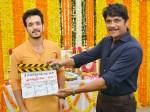 Akhil Akkineni Venki Atluri Movie Started