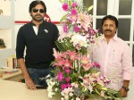 Am Ratnam Meets Pawan Kalyan At Janasena Party Office