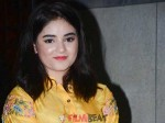 Dangal Baby Zaira Wasim Suffering With Depression