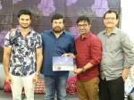 Sammohanam Team Celebrates Success With Chiranjeevi