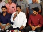 Ganta Srinivasa Rao Press Meet Along With Suriya Karthi