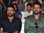 Hero Karthi Making Hilarious Fun About His Brother Surya