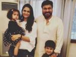 Allu Arjun Family At Megastar House