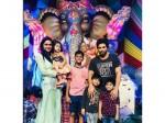 Allu Arjun Family The Ganesh Nimarjan