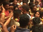 Thalapathy Vijay Visits Puducherry Gets Mobbed Fans