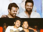Allu Arjun Sai Dharam Tej Emotional Tweets On Prabhas Birthday