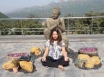 Tanushree Dutta Meditates Relaxes At Health Spa