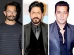 Shah Rukh Khan Aamir Khan Away From Salman Khan Birthday
