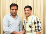 Dil Raju Meets Trs Leader Ktr And Congratulate Him For Victory
