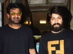 Rebel Star Prabhas Met Rocking Star Yash