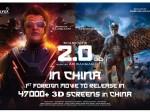Superstar Rajinikanth S 2 0 Movie Set China Box Office On Fire
