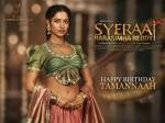 Stunning Sparkling Tamannaah As Lakshmi From Syeraanarasimha Reddy