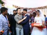 Akhil Akkineni Attended His Personal Employee Marriage