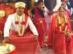 Cricketer Nc Aiyappa Weds Anu Poovamma Banglore