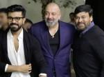 Ram Charan And Chiranjeevi Meets Sanjay Dutt