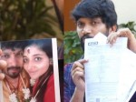 Abi Saravanan Sensational Comments His Wife Adhiti Menon