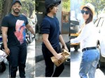 Arjun Kapoor Bonds With Malaika Arora S Son At Lunch