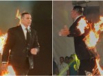 Akshay Kumar Shocked Everyone Walking On Ramp With Fire