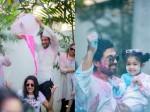 Allu Arjun Holi Celebrations Mega Family