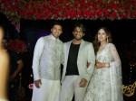 Allu Arjun At Sayyeshaa Saigal Arya Marriage