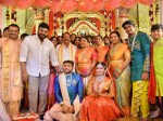 Chiranjeevi Rajamouli Attended Bandla Ganesh Family Wedding