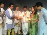 Brahmastra Logo Launches With 150 Drones At Kumbh Mela
