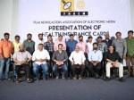 Sai Dharam Tej Dil Raju Trivikram Srinivas Supports Journalist