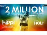 Karthikeya S Hippi Teaser Gets 2 Million Views